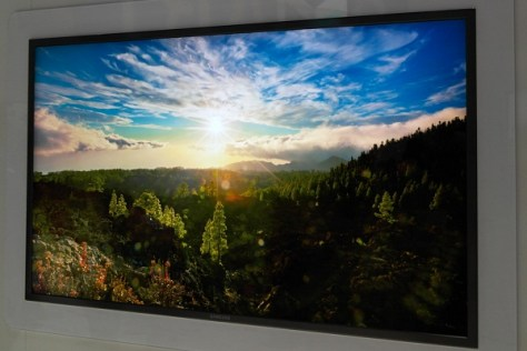 "Samsung 70"" 4k x 2k prototype as demoed at CES2012"