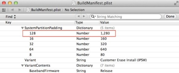 iOS 6.1 beta 5 code references (Credit: iDownloadBlog)