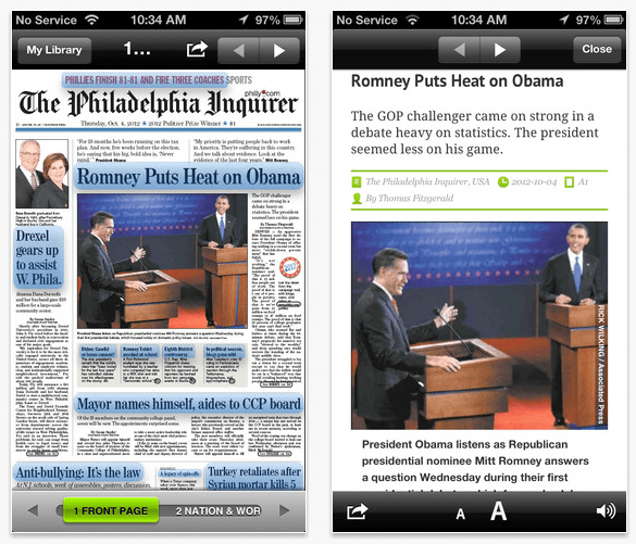 PressReader Screenshot