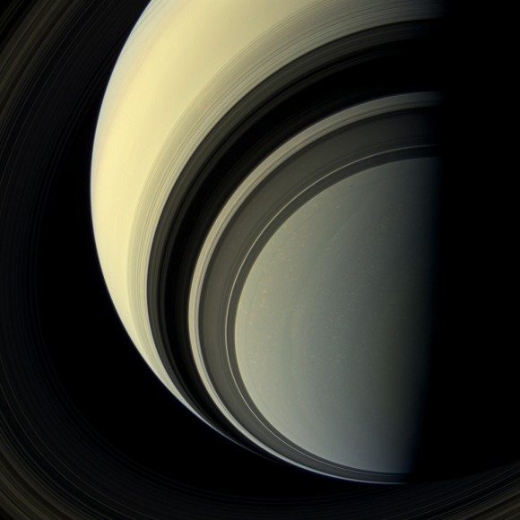Saturn's southern hemisphere images from a million miles away (Credit: NASA/JPL-Caltech/Space Science Institute)