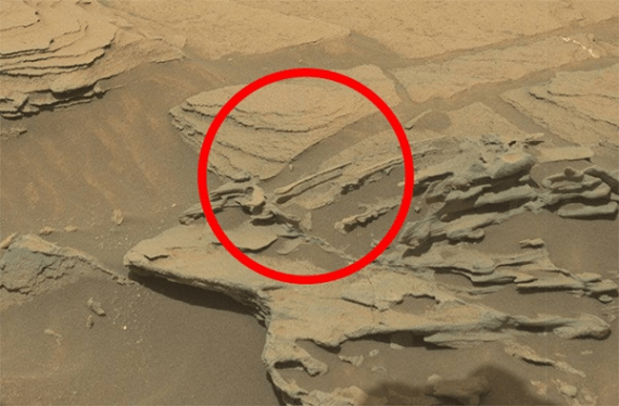 Martian Surface as seen by Mars rover Curiositys Mastcam on sol 1089 (Source: NASA/JPL-Caltech)(