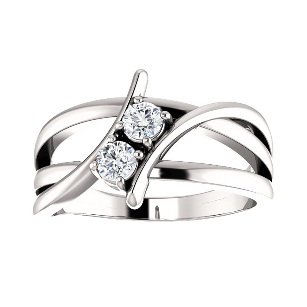 Fullsize Of Two Stone Ring