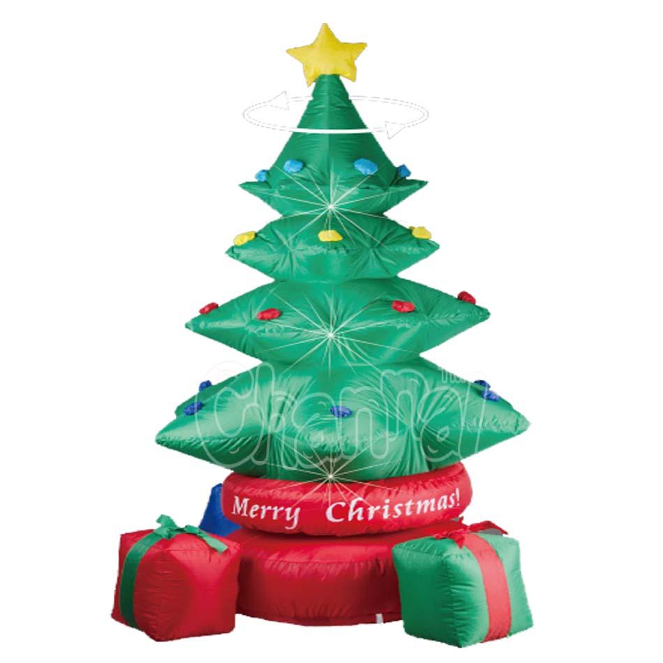 LED Lighted Inflatable Christmas Tree