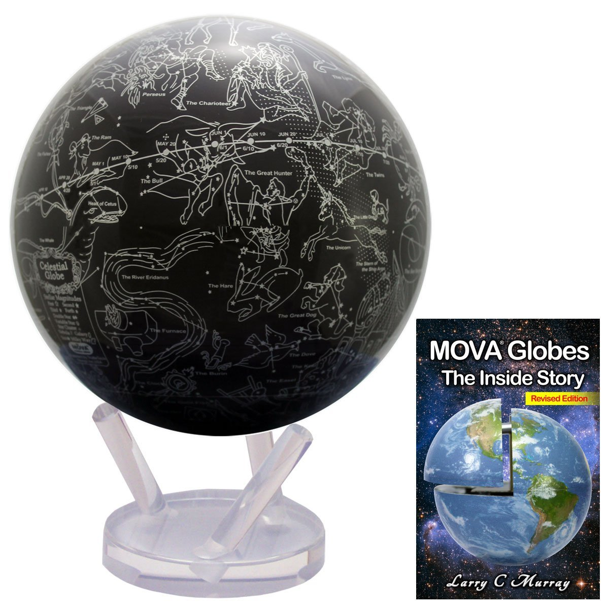 Cheap Free Globe Map  find Free Globe Map deals on line at Alibaba com Get Quotations      8 5 Inch MOVA Star Map Globe  bundled with Free eBook