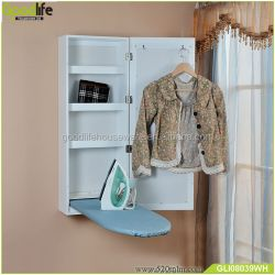 Ironing Board Storage Cabinet With Mirror Wholesale Cabinet