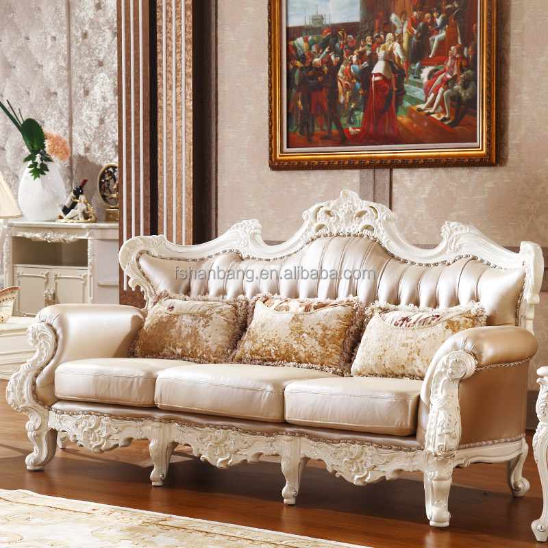 luxury classic french carved sofa set louis xv sofa set 4