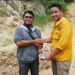 Memento Giving From AAPG SC UPN President for AAPG SC ITB President