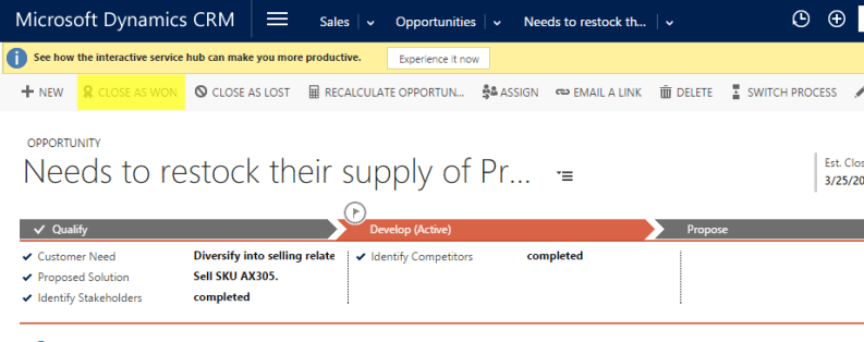 Execute Dynamics CRM Web API Actions