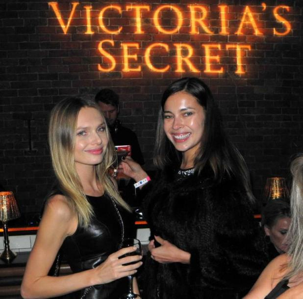 Victorias Secret: And these were the hawt bixches that turned up to the after party...