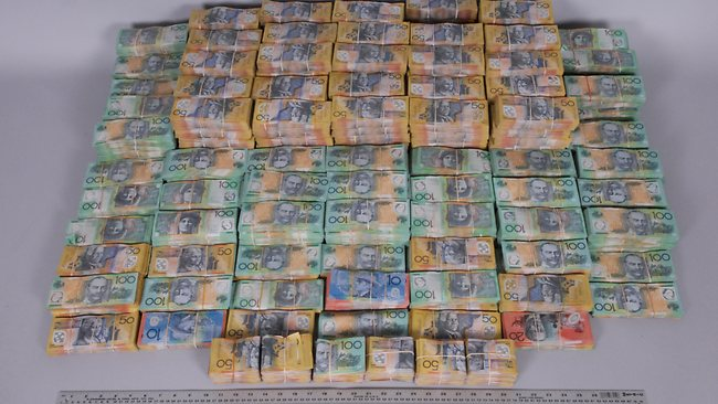 Australia cocaine cash.
