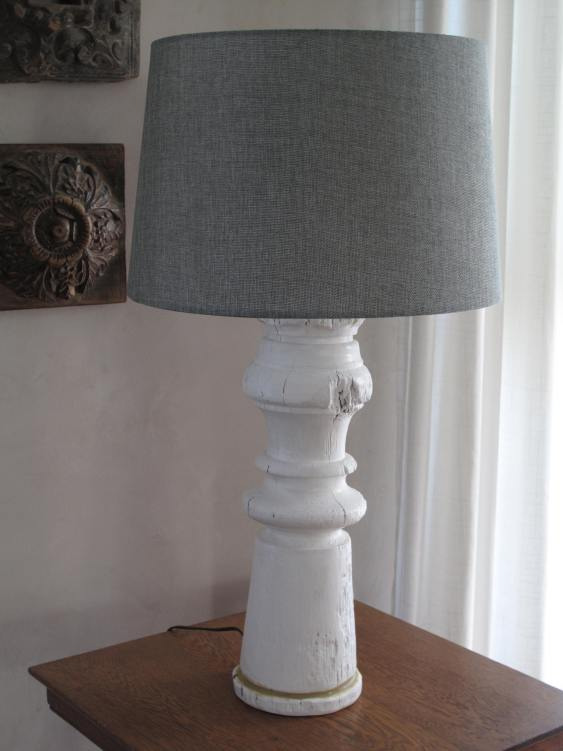 Recycled Post Lamp Scavenger Chic