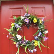 DIY Spring and Summer Wreath