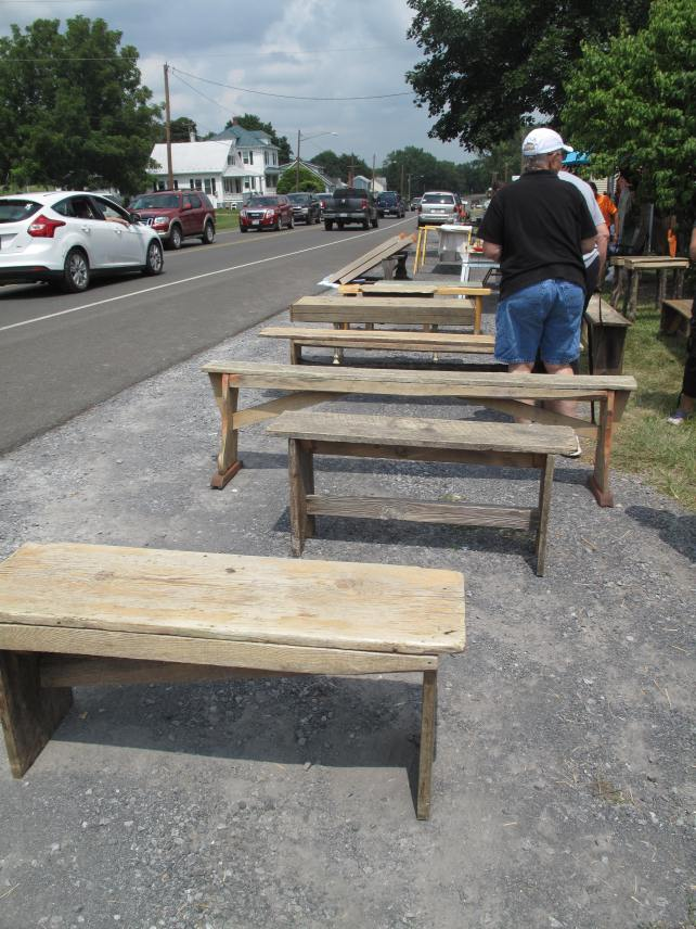 Nice homemade benches