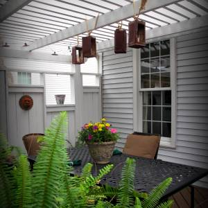 Upcycled Maple Syrup Can Lantern