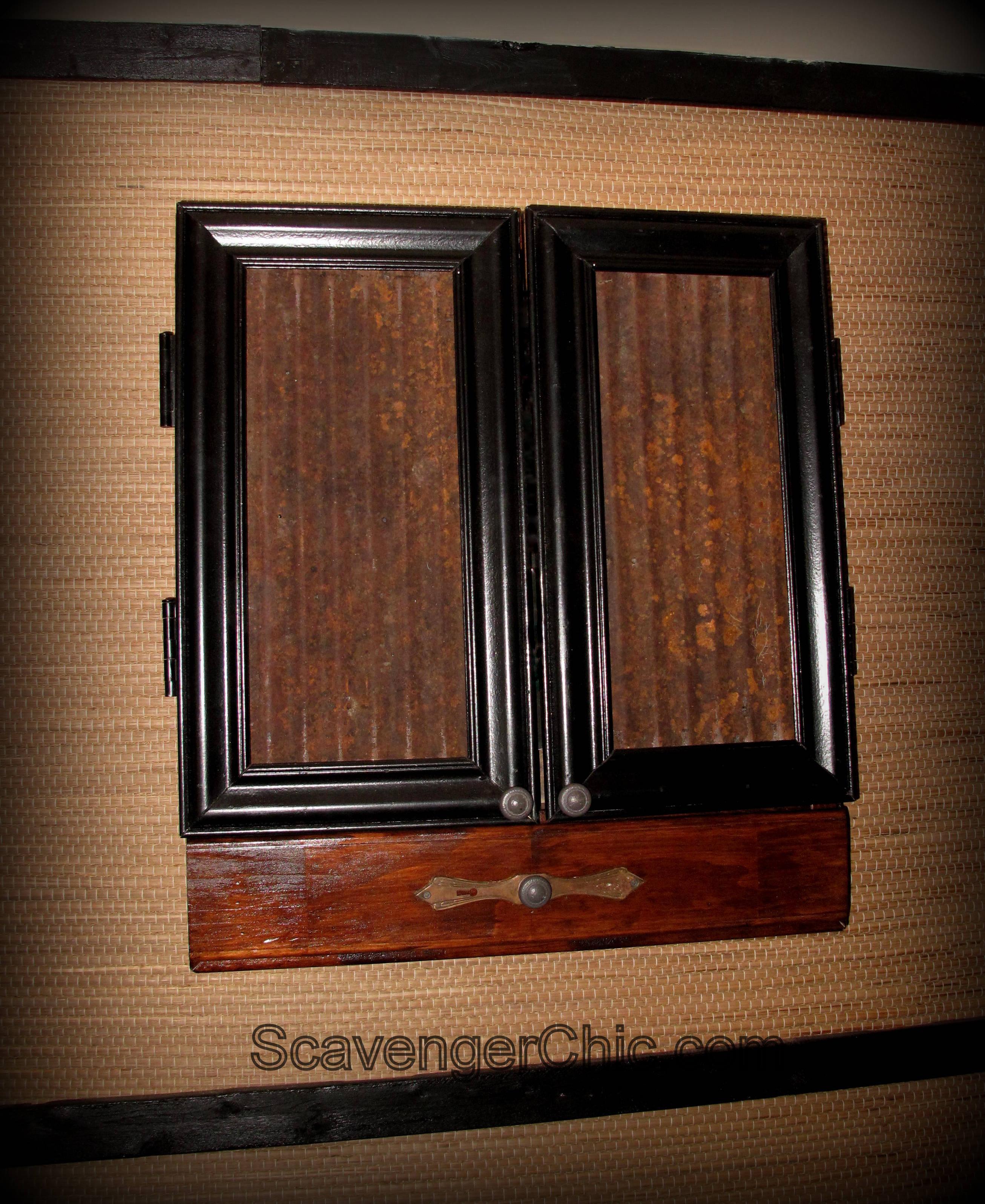 Dart Board Cabinet With Chalkboard Dartboard Cabinet Diy Scavenger Chic