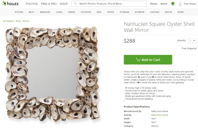 Nantucket Square Oyster Shell Wall Mirror - Mirrors - by Kathy Kuo Home - Google Chrome 1162014 120245 PM.bmp