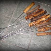 Campfire Roasting Sticks diy