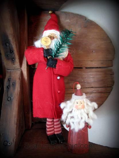 Old Wooden sled, sled shelf, wooden sleigh, diy shelves