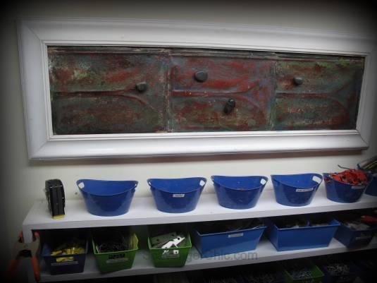 memo board, magnetic memo board diy, upcylcled roofing tins, recycled roofing tins, vintage roofing tins