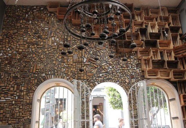 20+ Amazing Recycled Wall Ideas-Old Crates and Scrap Wood Pieces - Amazing Wall decor