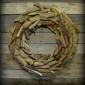 Driftwood Wreath diy