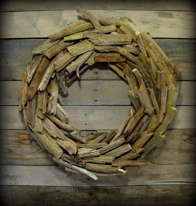 Driftwood Wreath diy