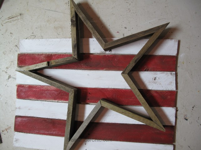 Pallet Wood Stars and Stripes for the 4th of July diy, Pallet Wood Flag
