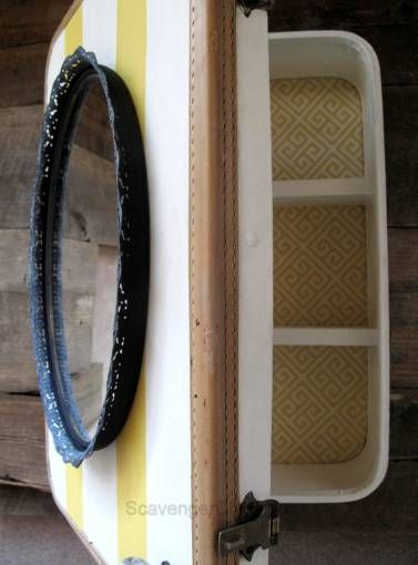Repurposing a Vintage Suitcase diy