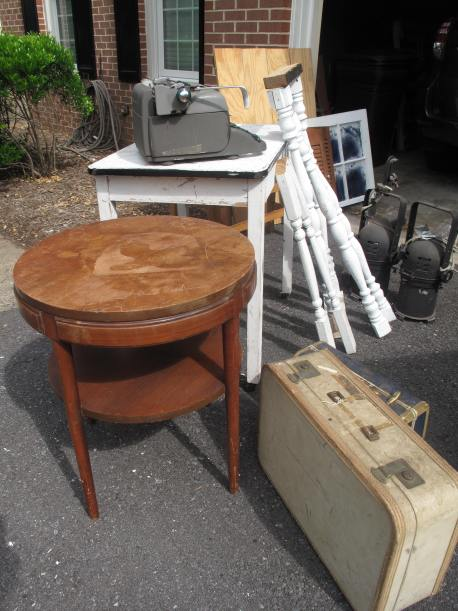 Salvaged Furniture