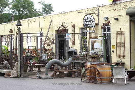 Visit to Black Dog Salvage  Roanoke, Virginia