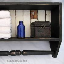 Build an Easy Bathroom Shelf