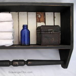 Build an Easy Bathroom Shelf