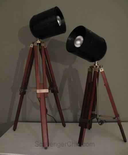 Tripod Spotlight Lamp diy-002