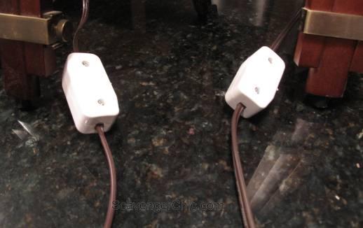Tripod Spotlight Lamp diy wiring a thumb switch-002