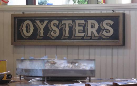 Vintage Oyster Sign diy-005