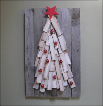 Cedar Shingles Christmas  Tree