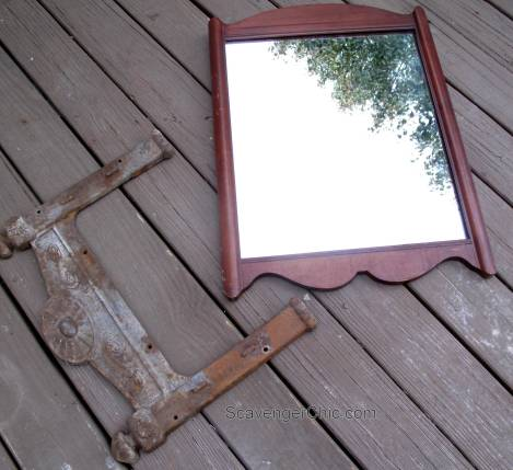 Dump Find makes a great Mirror