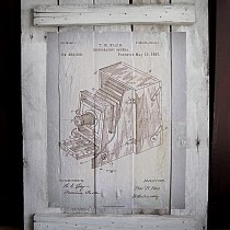 Finding Vintage Patent Artwork, diy pallet project