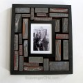 Antique Printing Blocks frame