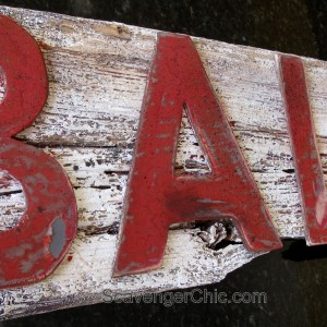 LIVE BAITS Sign -Fixer Upper Style