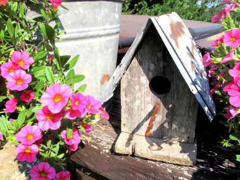 Junky Barn Wood Birdhouse