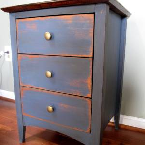 Little Blue Side Table