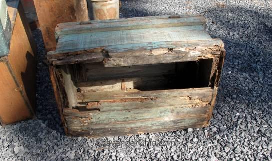 Route 11 Yard Crawl 2016-termite eaten crate