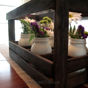 Repurposed Bed Slats Tray