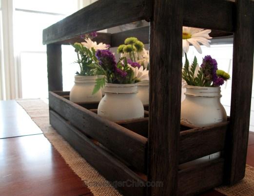Repurposed Bed Slats Tray