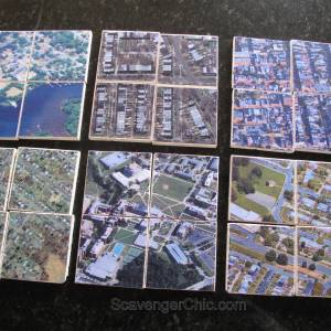 Hometown Map Coasters