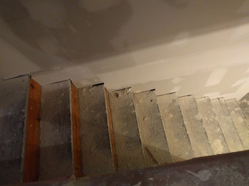 New treads for old stairs, remodel reface and refinish old stairs-006