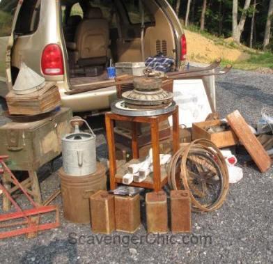 Route 11 Yard Crawl Treasures