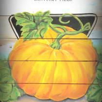Card Seed Co. Pumpkin Seed Packet Vintage Style Sign DIY