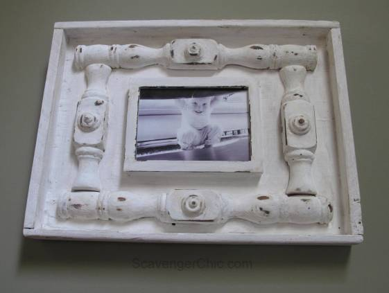 DIY Spindle Frame-